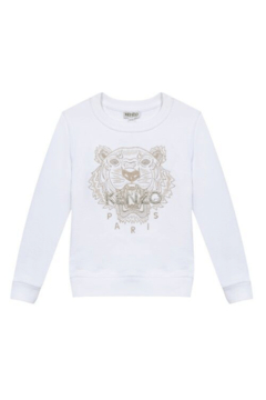Kenzo 5-6Y Tiger Paris Sweater - Alternate List Image