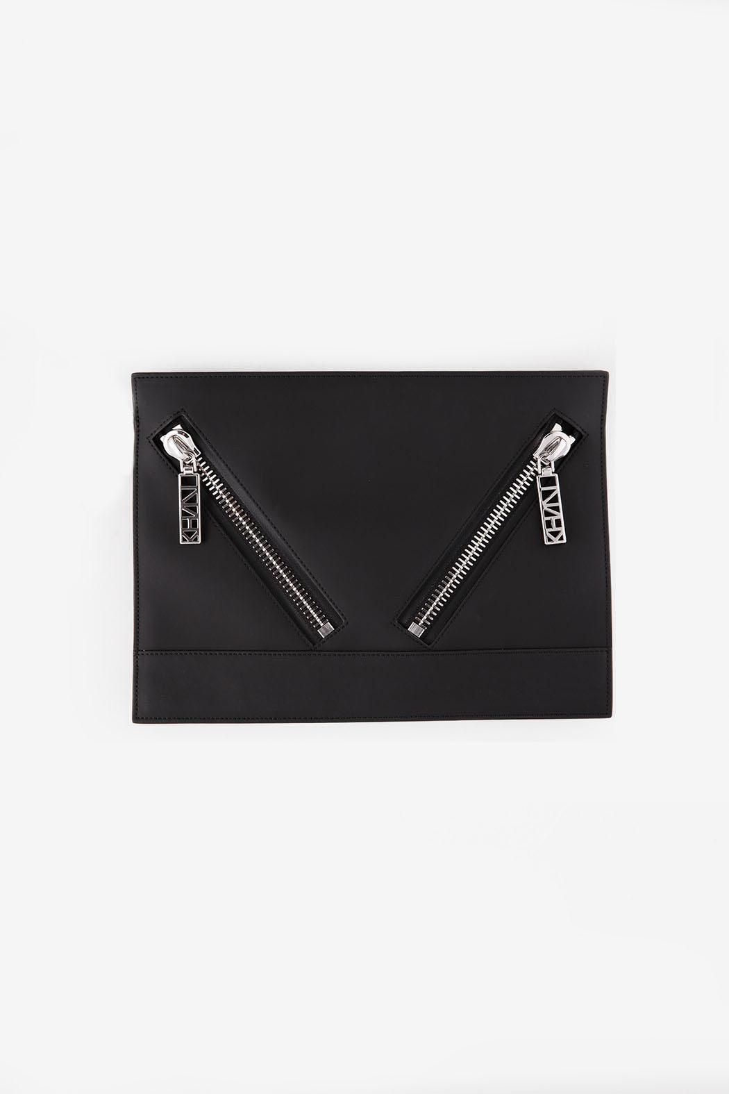 Kenzo Black Kalifornia Clutch - Main Image