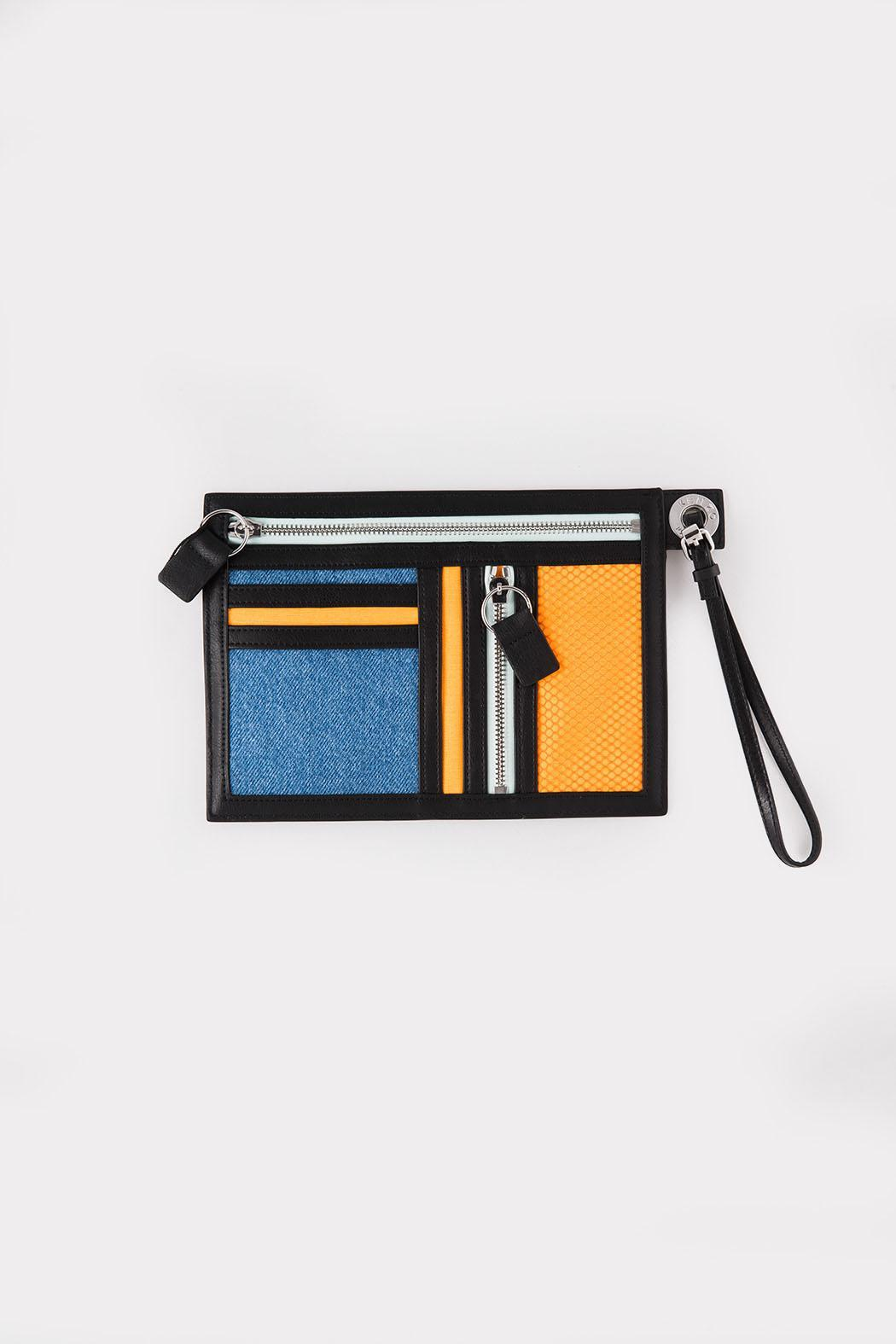 Kenzo Blue  Pouch - Front Full Image