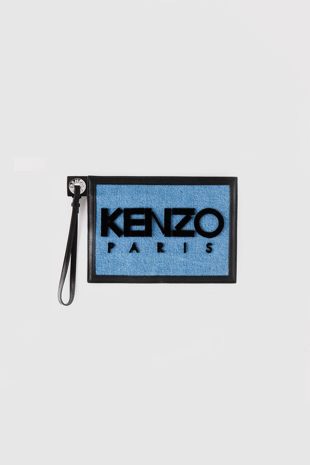 Kenzo Blue  Pouch - Main Image