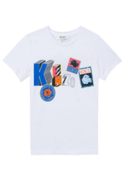 Kenzo 8-12Y Bond Feline T-shirt - Product Mini Image