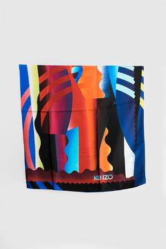 Shoptiques Product: Kenzo Spray Collage Scarf