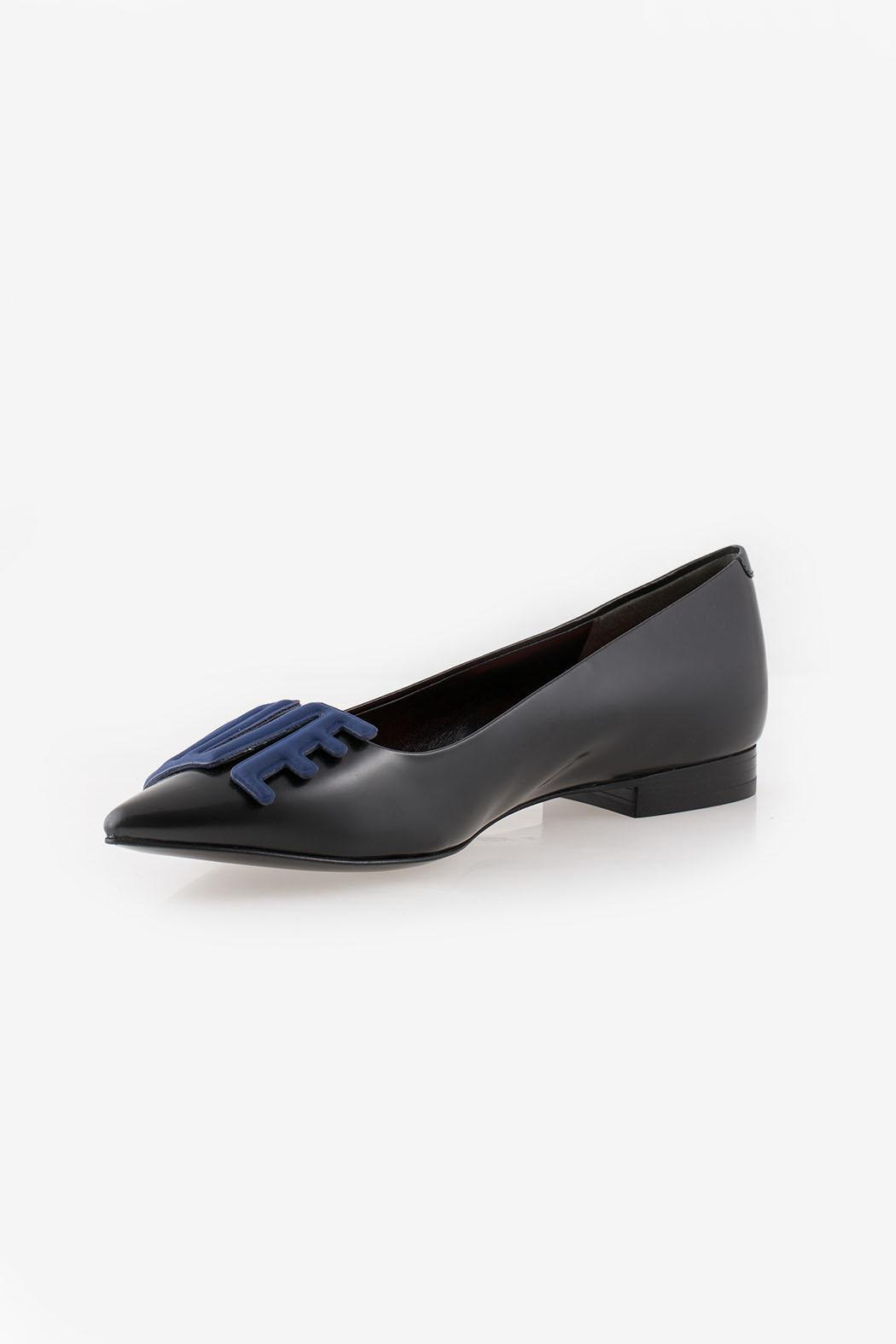 Kenzo Love Ballerina Flats - Front Cropped Image