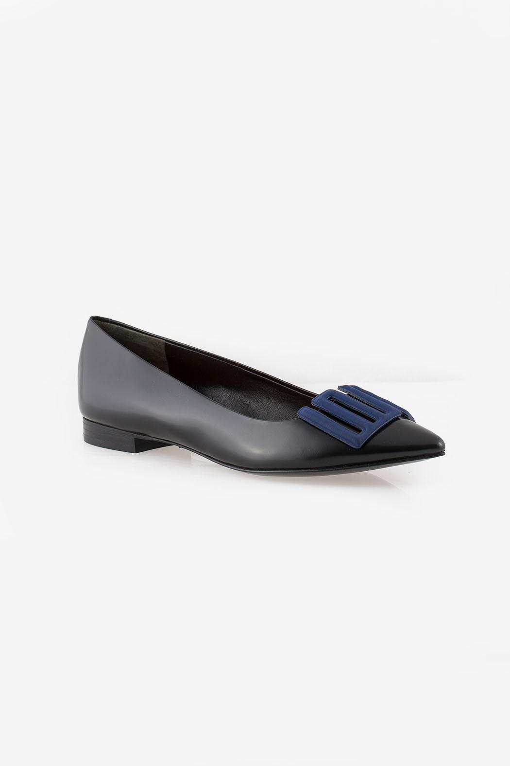 Kenzo Love Ballerina Flats - Side Cropped Image