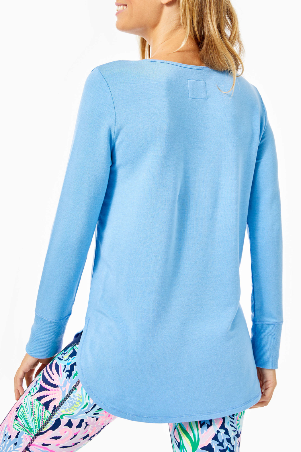Lilly Pulitzer  Kerah Luxletic Tee - Front Full Image