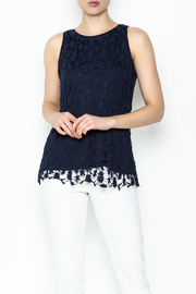 Keren Hart Lace Sleeveless Top - Front cropped