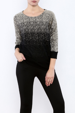 Shoptiques Product: Metallic Black Sweater
