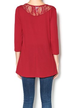Shoptiques Product: Red Sweater Tunic
