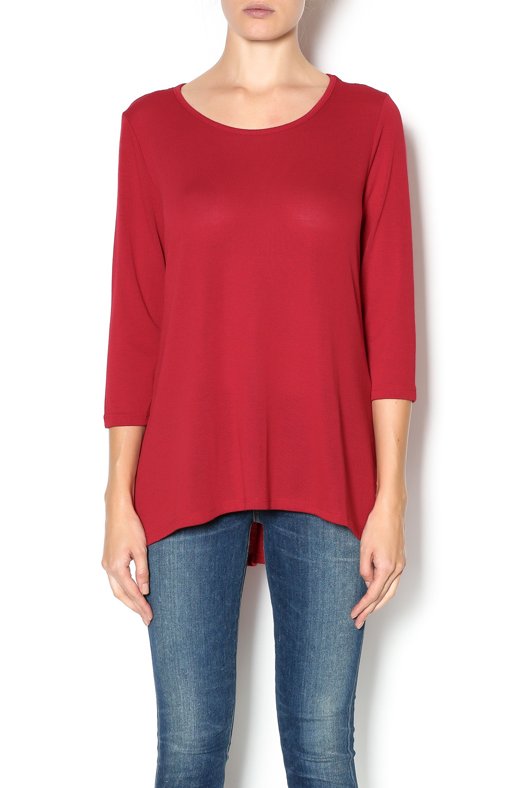 Keren Hart Red Sweater Tunic from California by The Clothes Mine ...