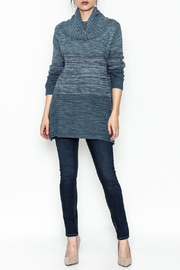 Keren Hart Variegated Cowl Neck Sweater - Side cropped