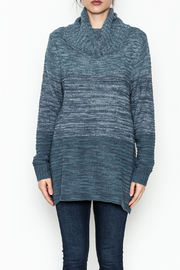 Keren Hart Variegated Cowl Neck Sweater - Front full body
