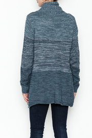 Keren Hart Variegated Cowl Neck Sweater - Back cropped