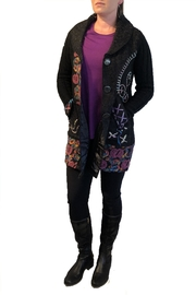 Keren Hart Floral Embroidiered Jacket - Product Mini Image