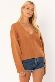 AMUSE SOCIETY Keri V-Neck Sweater - Product Mini Image