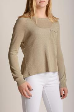 Kerisma Chiffon Back Sweater - Product List Image