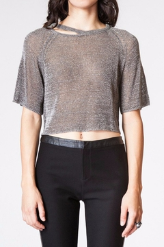 Kerisma Grey Crop Top - Product List Image