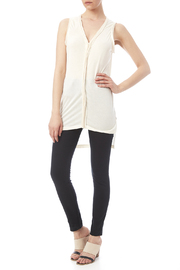 Kerisma Knits Ruffle Detail Tunic - Front full body