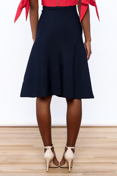 Kerisma Navy A-Line Skirt - Alternate List Image
