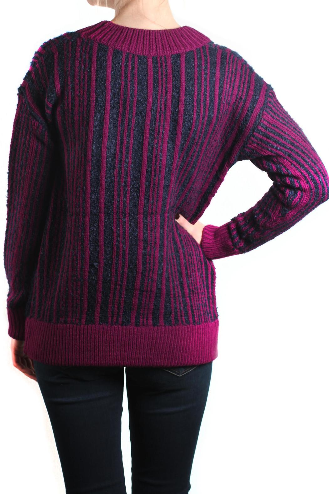 Kerisma Oversized Stripe Sweater from Kentucky by Pappagallo ...