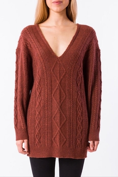 Kerisma Vee Cableknit Sweater - Alternate List Image