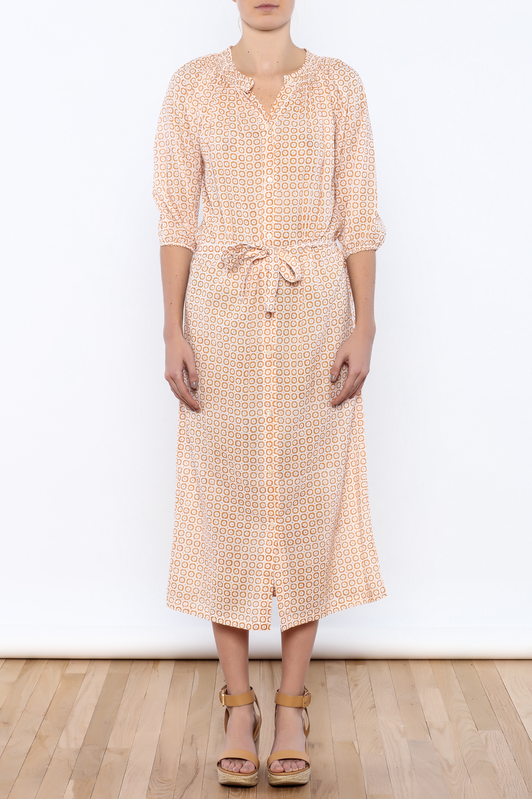 Kerry Cassill Pam Long Maxi Dress - Front Cropped Image