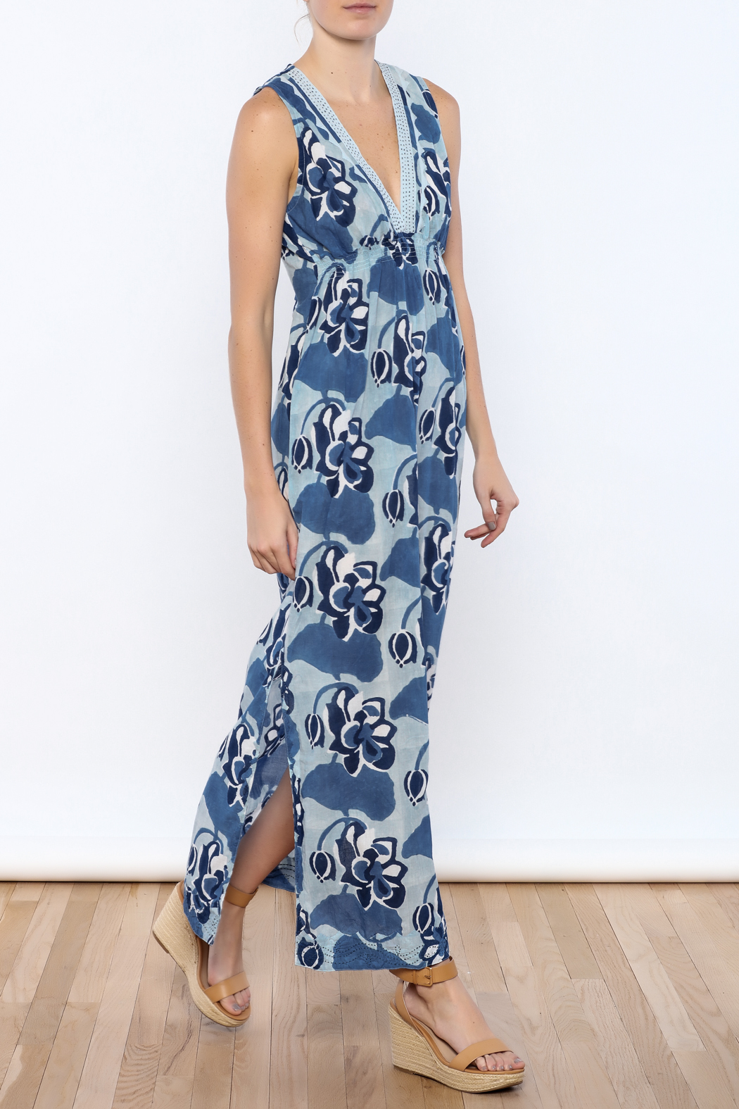 Kerry Cassill Sleeveless Maxi Dress - Main Image