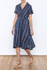 Kerry Cassill Wrap Dress - Product Mini Image
