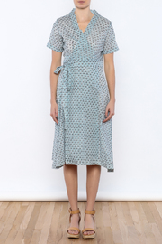 Kerry Cassill Wrap Dress - Front cropped