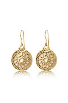 Shoptiques Product: Fez Earrings Pearl