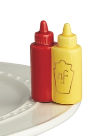 Nora Fleming Ketchup&Mustard - Product Mini Image