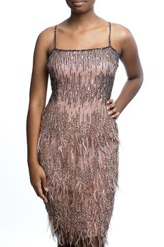Shoptiques Product: Pink Feather Dress