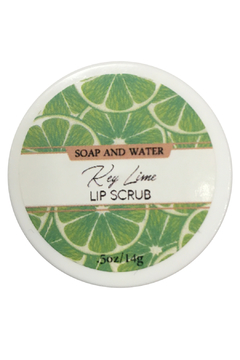 Soap and Water Newport KEY LIME SUGAR LIP SCRUB - Product List Image