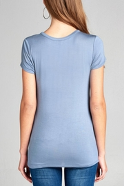 Active Basic Keyhole Basic Tee - Front full body
