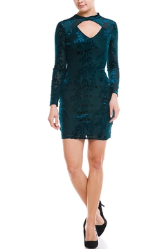 Shoptiques Product: Keyhole Burnout Dress