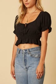 Cotton Candy LA Keyhole Crop Top - Front full body