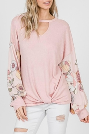 7th Ray Keyhole Floral - Back cropped