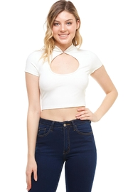 Better Be Keyhole Front Top - Front cropped