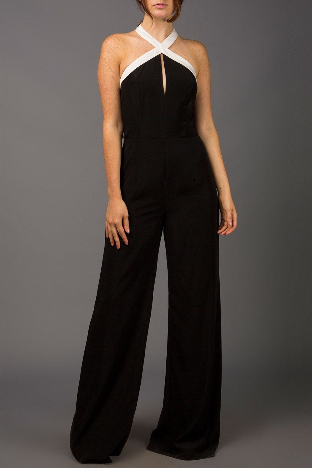 443080a9829 WREN   WILLA Keyhole Jumpsuit from New York by Runway   Rose ...