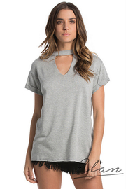 Elan Top Keyhole Neck - Front cropped