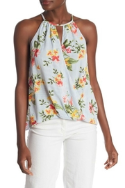Lush Keyhole Print Tank-Top - Product Mini Image