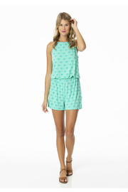 Kickee Pants Keyhole Romper - Front cropped