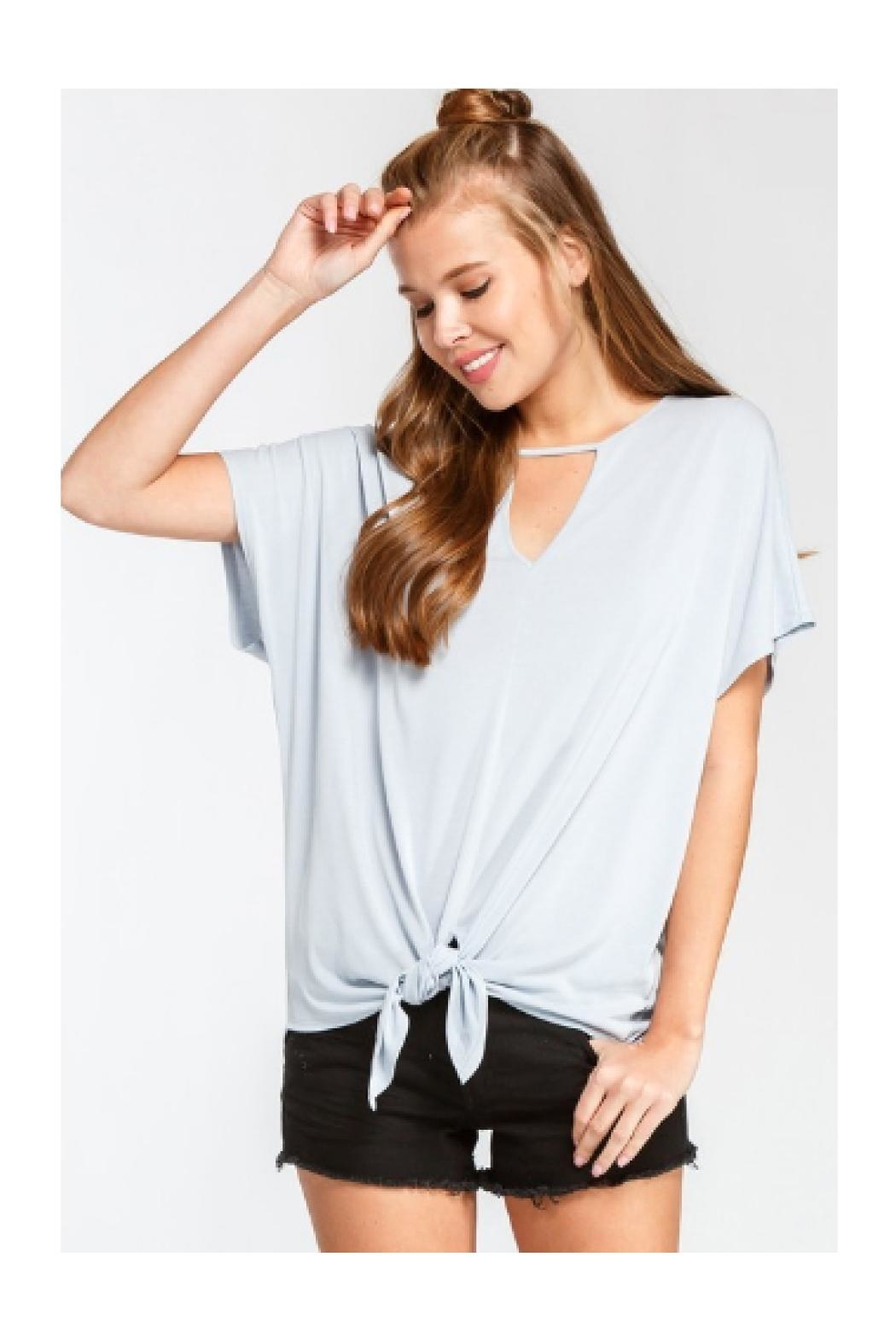 American Fit Keyhole Top - Main Image