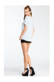 American Fit Keyhole Top - Front full body
