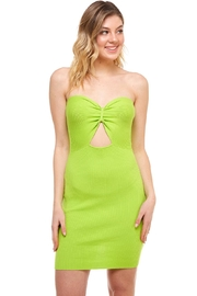 Wild Honey Keyhole Tube Dress - Product Mini Image
