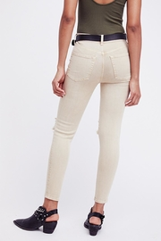 Free People Khaki Busted Skinny - Front full body
