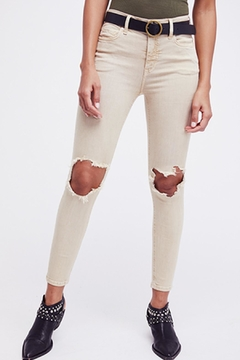 Free People Khaki Busted Skinny - Alternate List Image