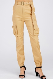 Love Tree Khaki Cargo Pants - Product Mini Image