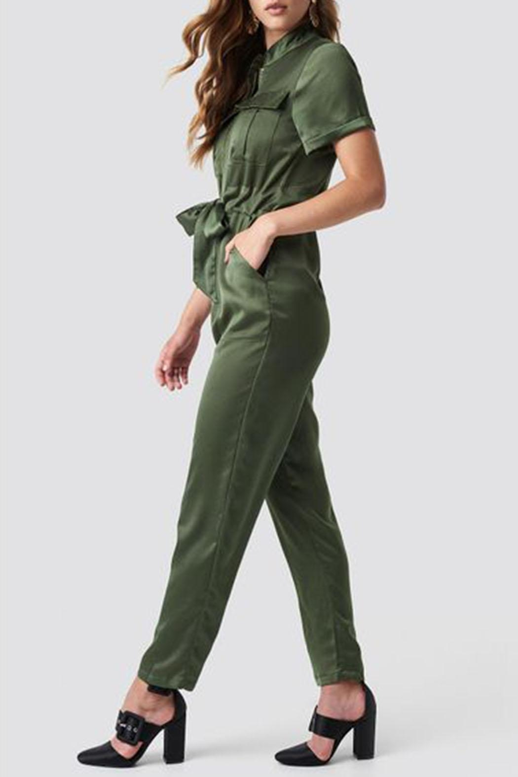 fe5ac2e04f395 Glamorous Khaki Jumpsuit from Canada by Envy — Shoptiques