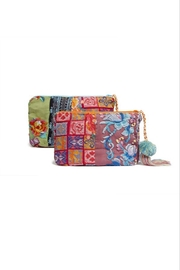 Johnny Was Khali Make-Up Bag - Front cropped