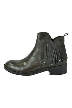 Khrio Fringe Leather Boot - Product List Image